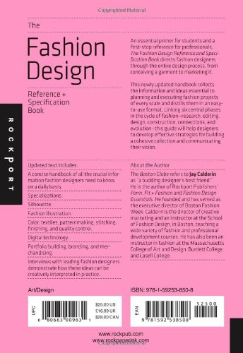 The Fashion Design Reference Specification Book Everything Fashion Designers Need To Know Every Day 0 0 Flexishop